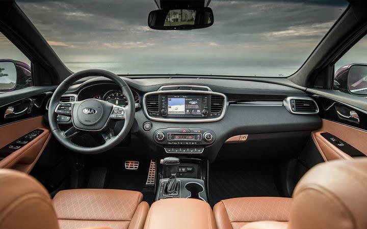 Интерьер Kia Sorento Prime 2019-2020