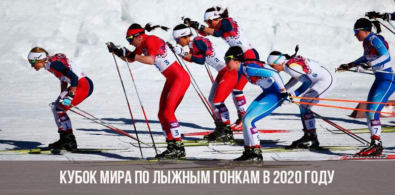 Кубок мира по лыжным гонкам 2020 года