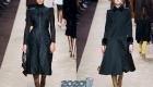 Стильные черные пальто на 2020 год