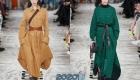 Модные модели женских пальто на зиму 2019-2020