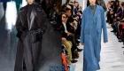 Длинное женское пальто - тренд 2019-2020 года