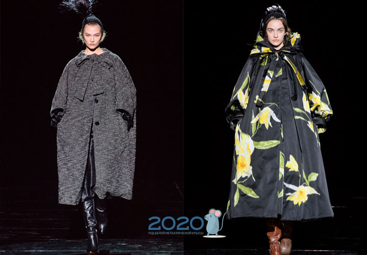 Пальто оверсайз осень-зима 2019-2020