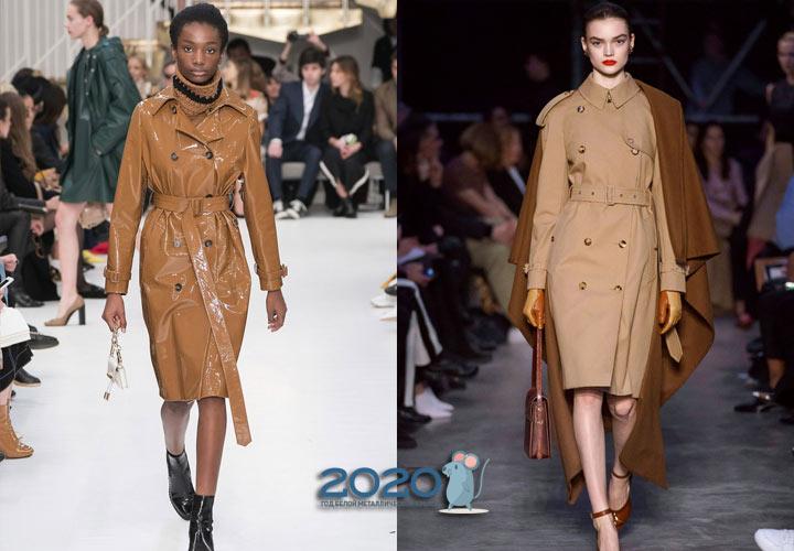 Модные тренчи осень-зима 2019-2020