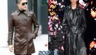 Кожаный плащ осень-зима 2019-2020 мужская мода