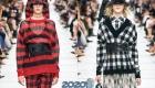 Клетчатые свитера сезона осень-зима 2019-2020