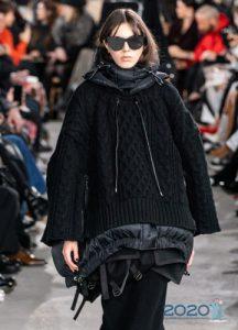 Объемный свитер на зиму 2019-2020 года