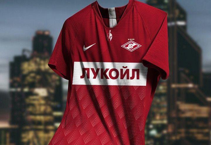 Новая форма Спартака на 2019-2020 год