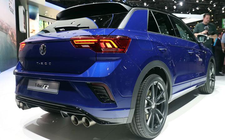 Экстерьер Volkswagen T-Roc R 2019-2020