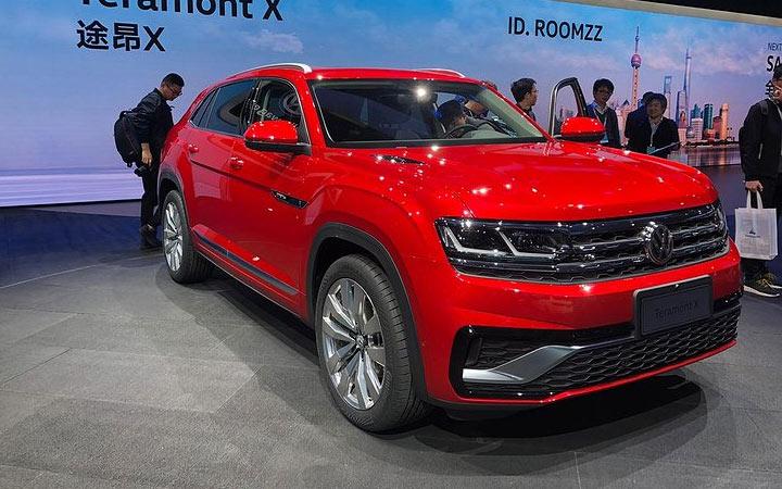 Экстерьер Volkswagen Teramont Coupe 2019-2020