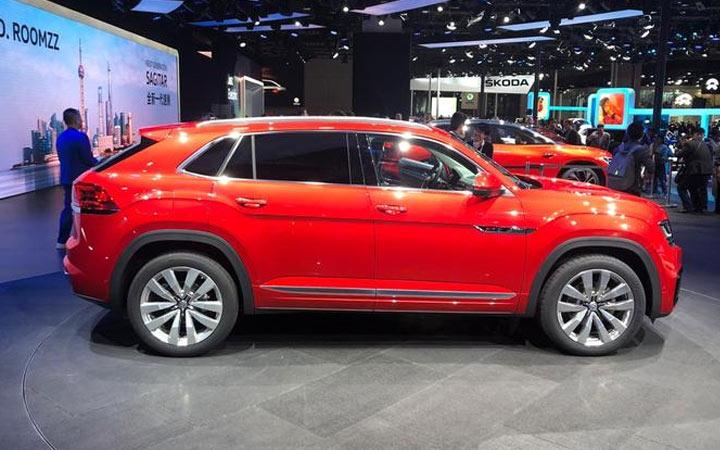 Новый Volkswagen Teramont Coupe 2019-2020