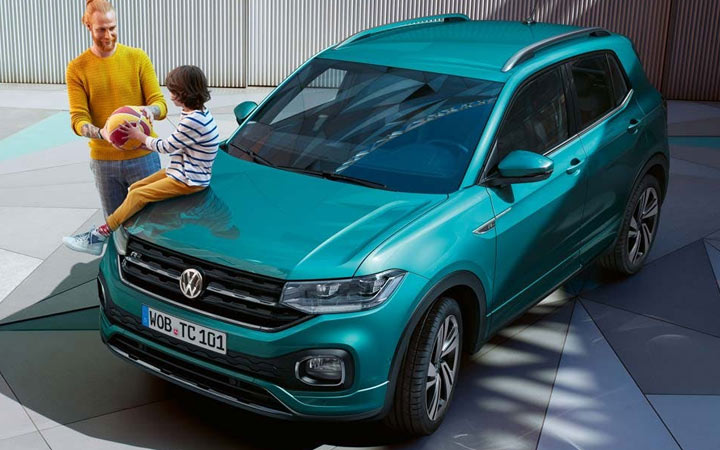 Экстерьер Volkswagen T-Cross 2019-2020