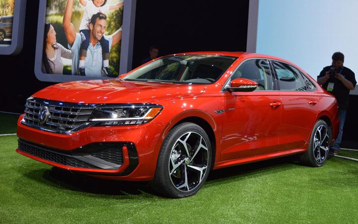 Экстерьер Volkswagen Passat 2019-2020
