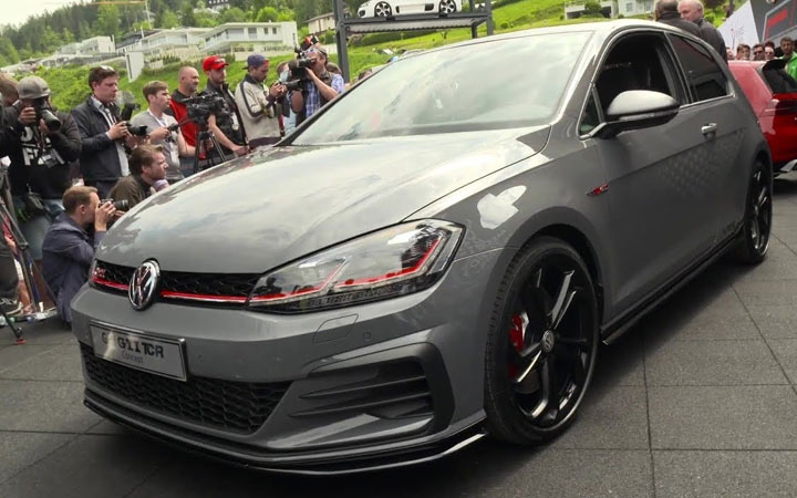 Экстерьер Volkswagen Golf GTI TCR 2019-2020
