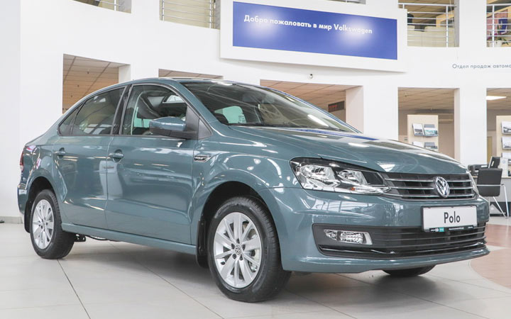 Экстерьер Volkswagen Polo Connect 2019-2020