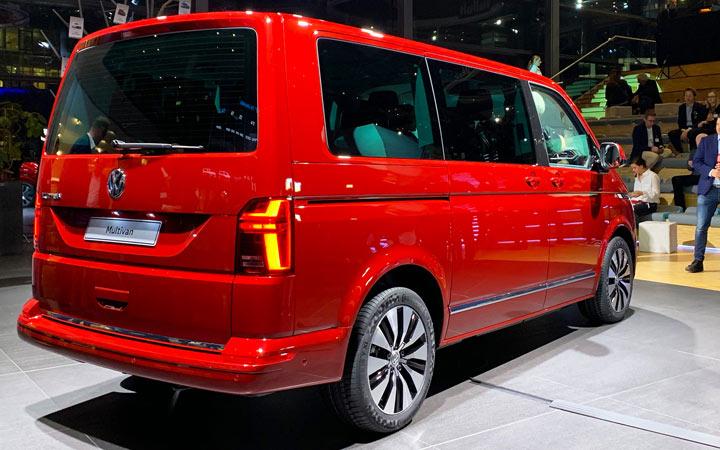 Новый Volkswagen Multivan T6.1 2019-2020