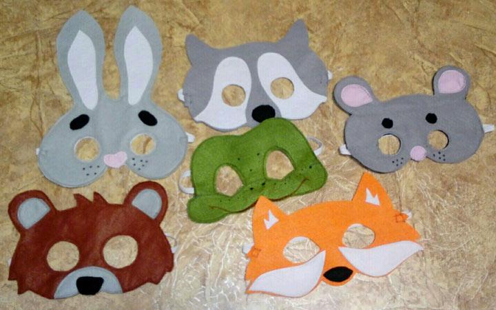 Инструкция по изготовлению детской новогодней маски на 2020 год