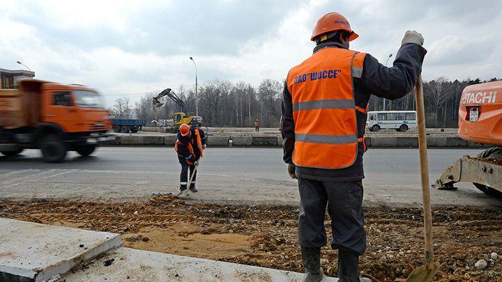 Реконструкция Внуковского шоссе
