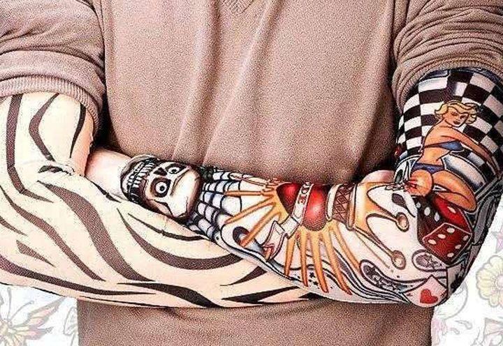 Съемные тату рукава