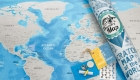Карта путешествий - подарок на 2020 год