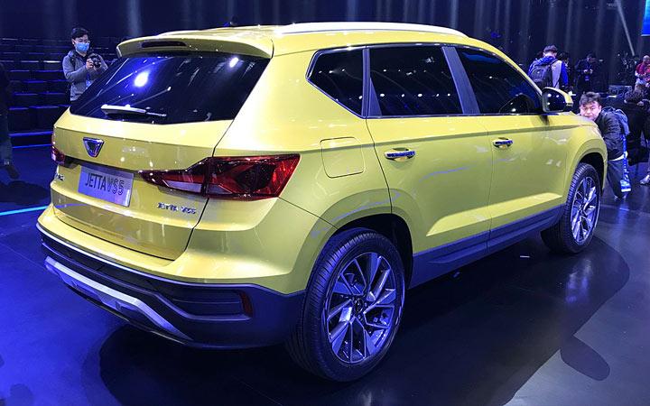 Новый Volkswagen Jetta vs5 2020