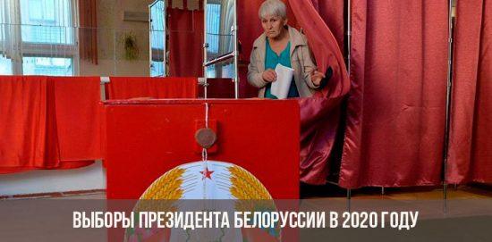 Выборы Президента Беларуссии в 2020 году