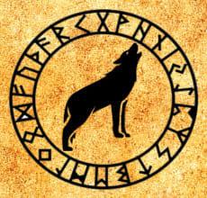 Волк - тотем Славянского гороскопа
