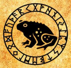 Жаба - тотем Славянского гороскопа