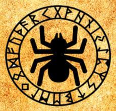 Паук - тотем Славянского гороскопа
