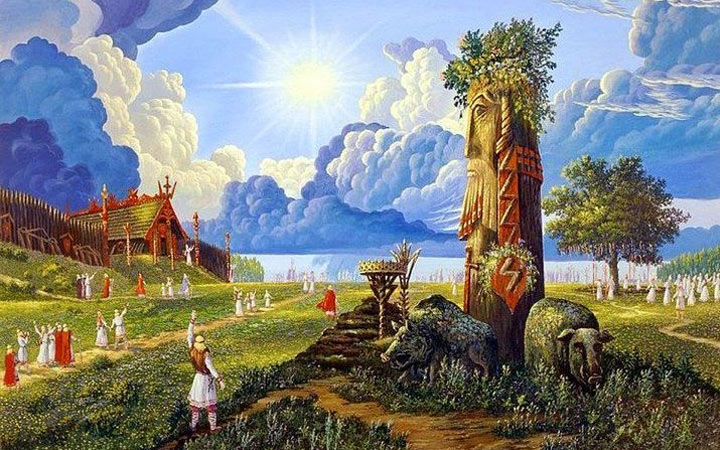 Новый Год по Славянскому календарю