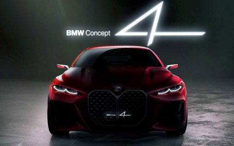 Во Франкфурте показали концепт BMW 4-series