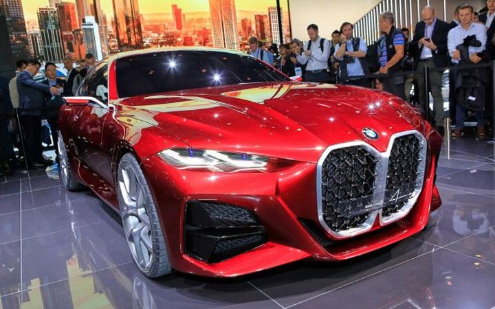 BMW 4-series презентация концепта