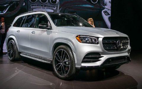 Экстерьер Mercedes GLS 2020