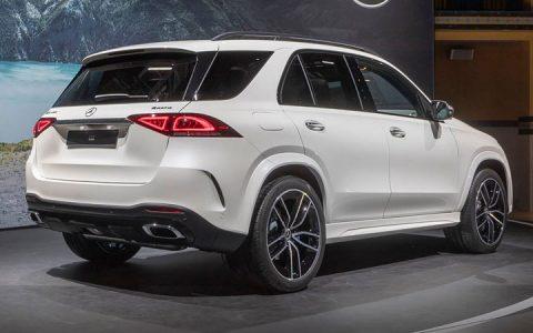 Новый кузов Mercedes GLS 2020