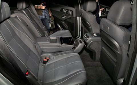 Второй ряд Mercedes GLS 2020