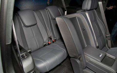 Третий ряд Mercedes GLS 2020
