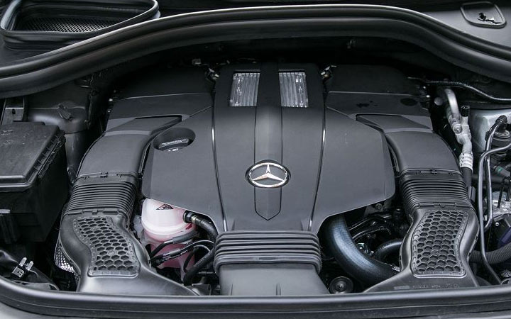 Двигатель Mercedes GLS 2020
