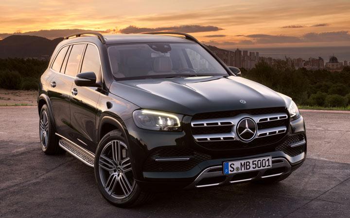 Технические характеристики Mercedes GLS 2020
