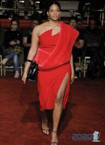 Модное платье plus size 2019-2020 года