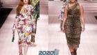 Модные платья plus size от Dolce & Gabbana 2019-2020