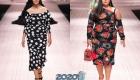 Модели plus size от Dolce & Gabbana 2019