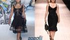Черное платье plus size от Dolce & Gabbana
