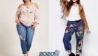 Модные джинсы для полных женщин на 2019-2020 год
