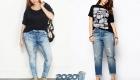 Модные джинсы plus size 2019-2020