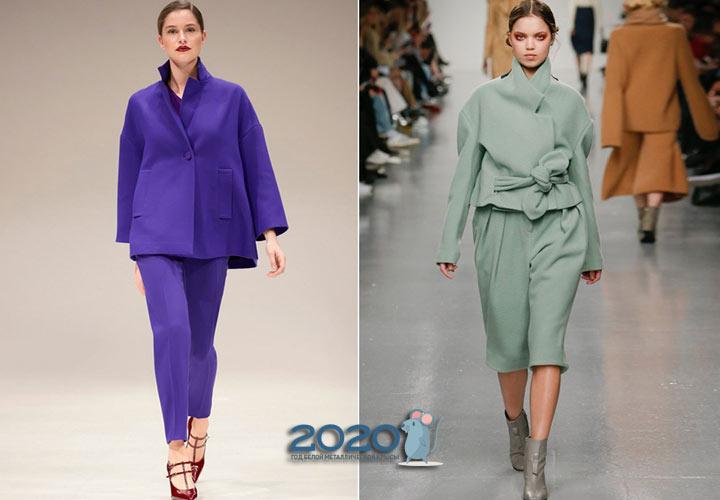 Модные костюмы для полных женщин на 2019-2020 год