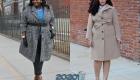 Мода plus size 2019-2020 стильные пальто