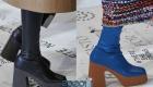 Модные сапоги с платформой осень-зима 2019-2020