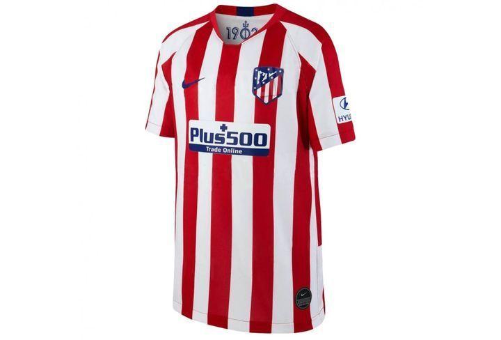 Футболка домашнего комплекта формы ФК Атлетико Мадрид 2019-2020