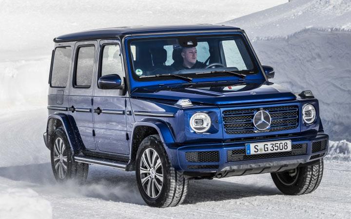 Mercedes G350d и другие новинки 2020 года