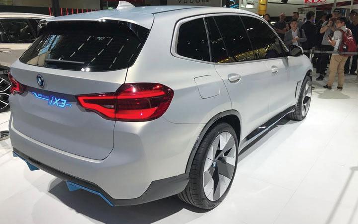 Новый автомобили 2020 года - iX3 от БМВ