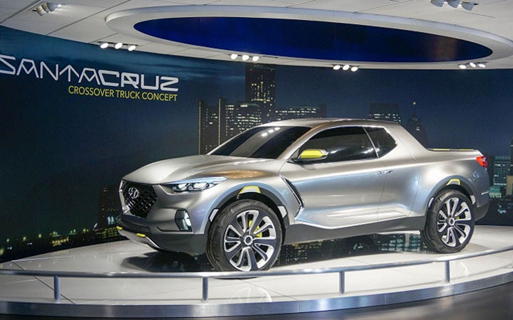 Новые автомобили 2020 года Santa Cruz Pickup